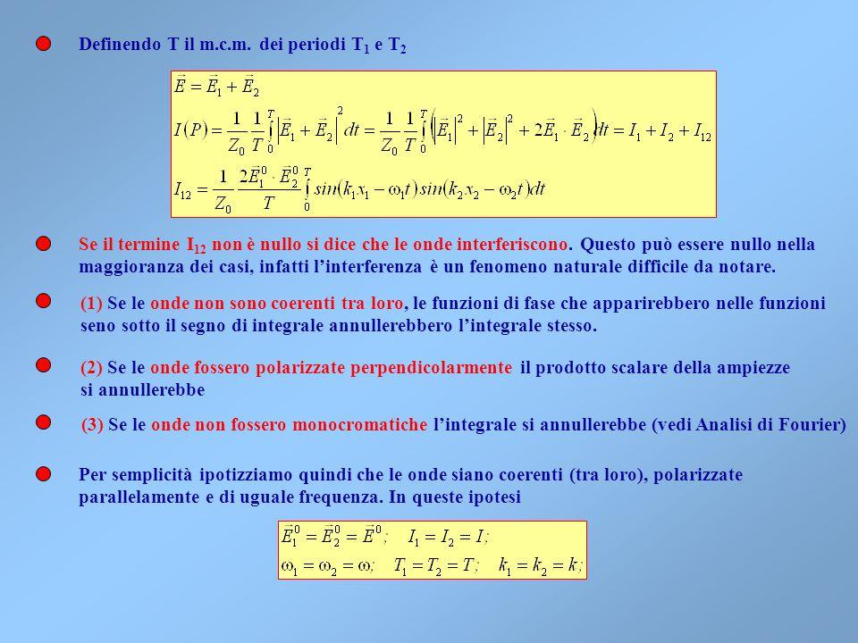 Definendo T il m.c.m. dei periodi T1 e T2