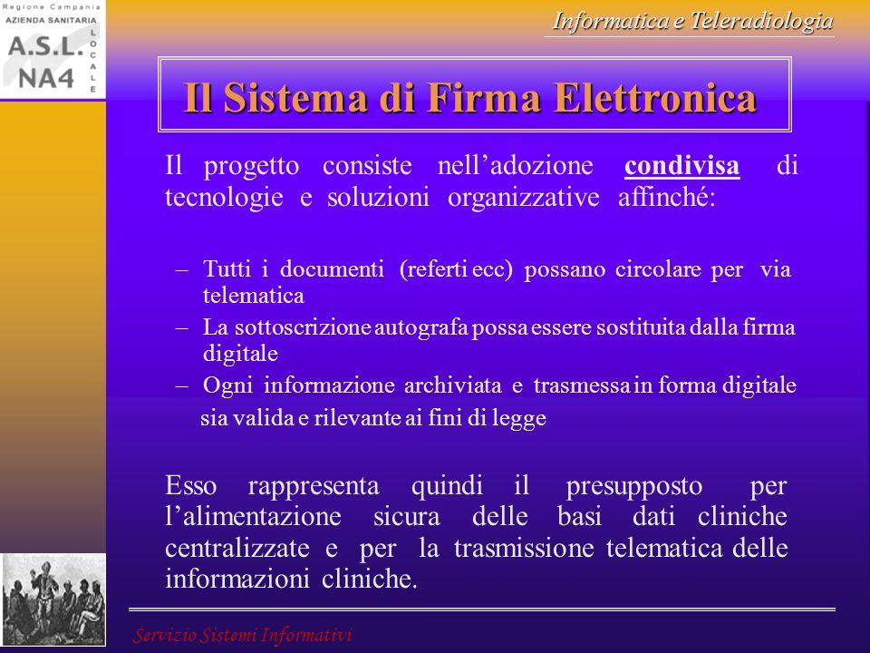 Il Sistema di Firma Elettronica