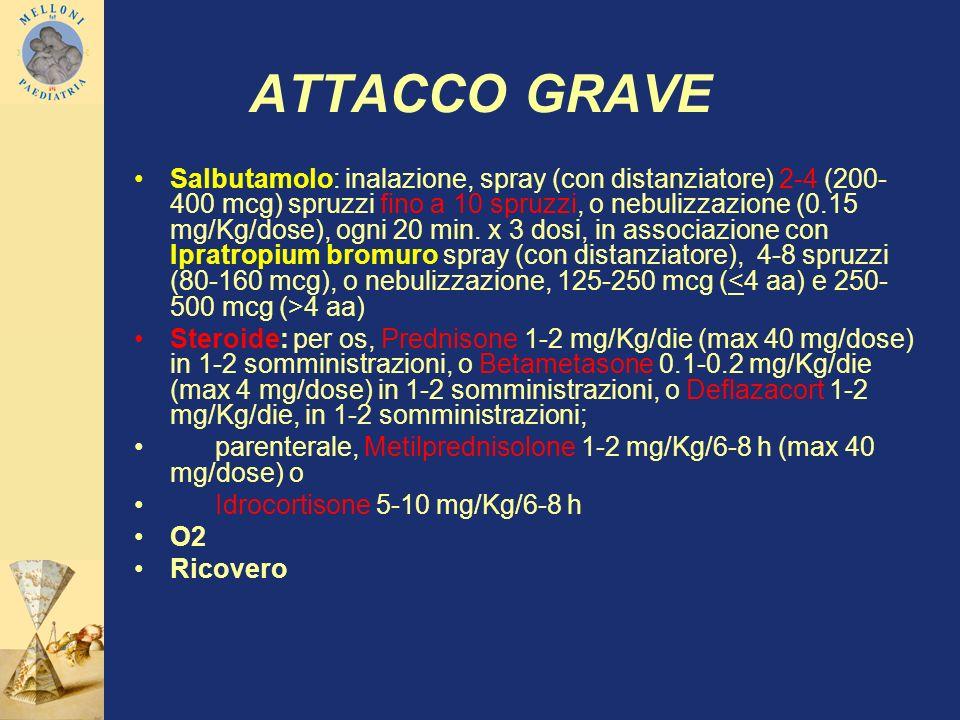ATTACCO GRAVE