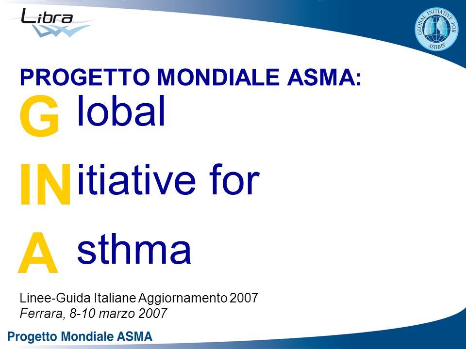 PROGETTO MONDIALE ASMA: