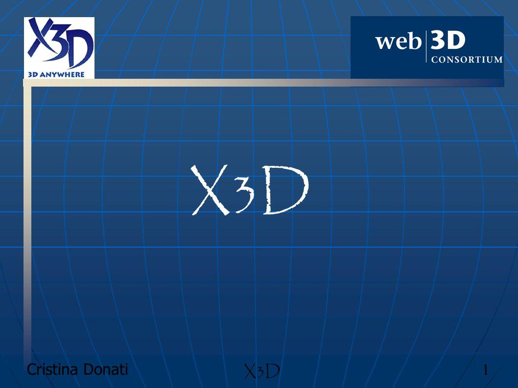 X3D X3D Cristina Donati 1