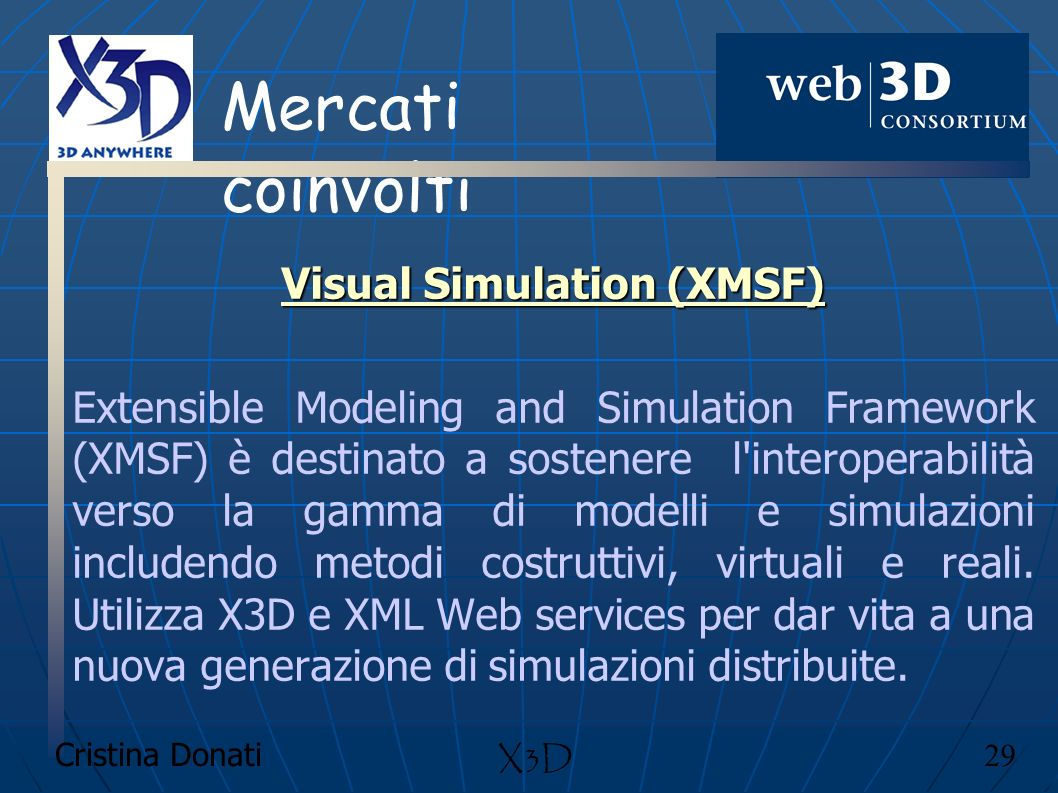 Visual Simulation (XMSF)