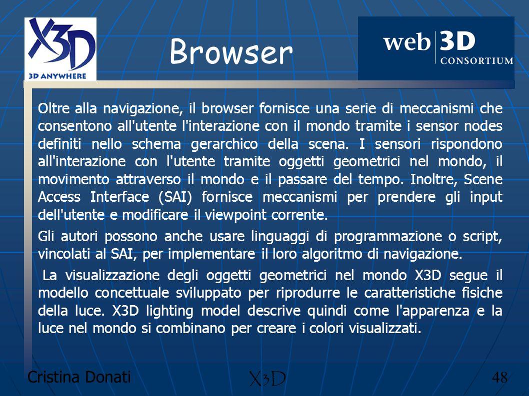 Browser X3D Cristina Donati 48