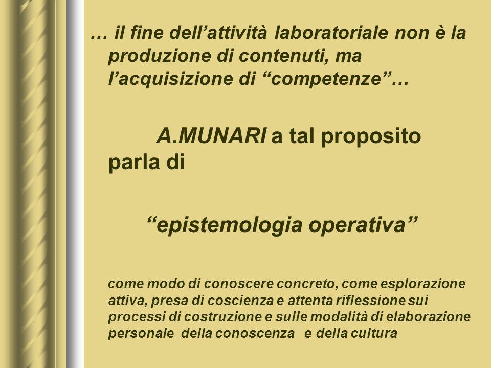 epistemologia operativa