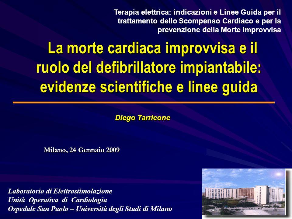 Terapia elettrica: indicazioni e Linee Guida per il trattamento dello Scompenso Cardiaco e per la prevenzione della Morte Improvvisa