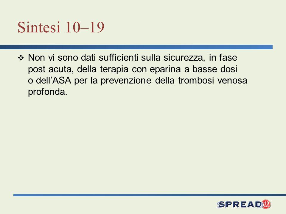 Sintesi 10–19