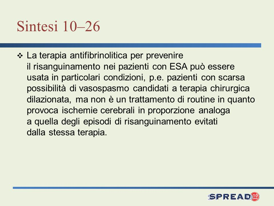 Sintesi 10–26