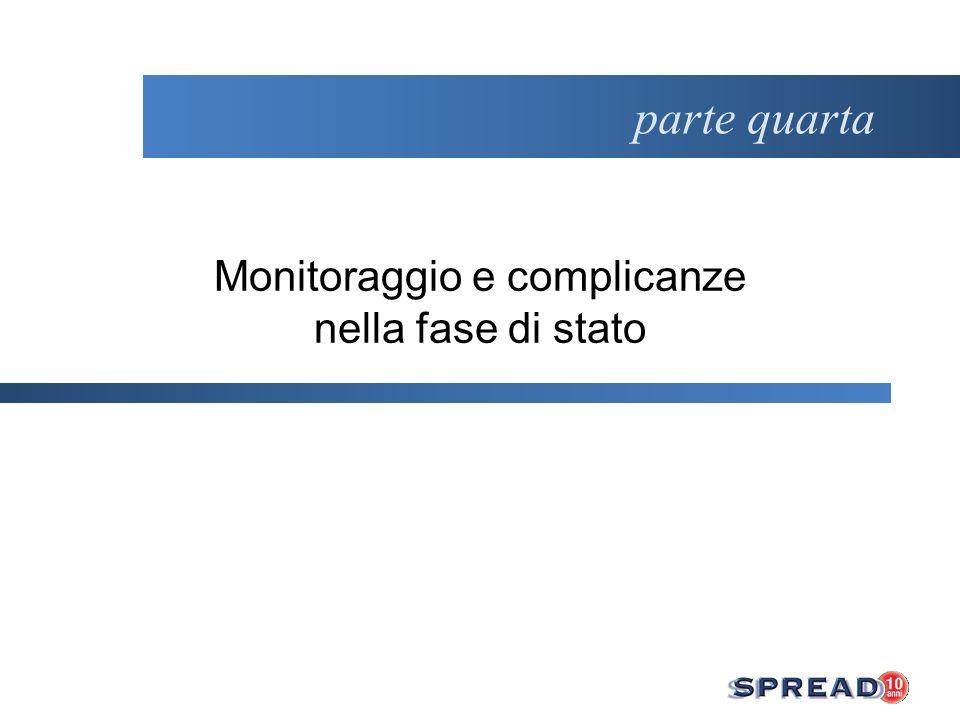 Monitoraggio e complicanze nella fase di stato