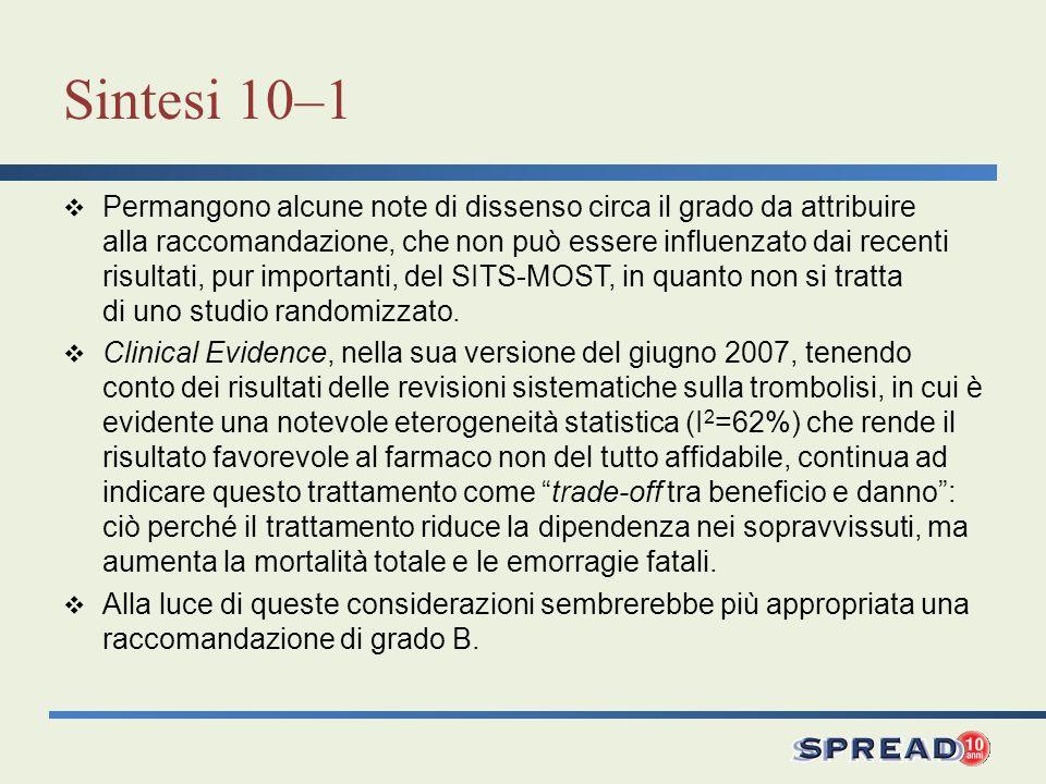 Sintesi 10–1