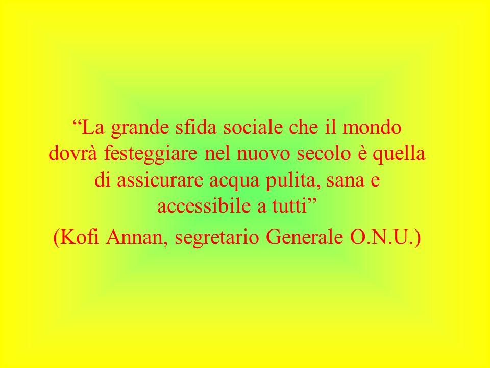 (Kofi Annan, segretario Generale O.N.U.)