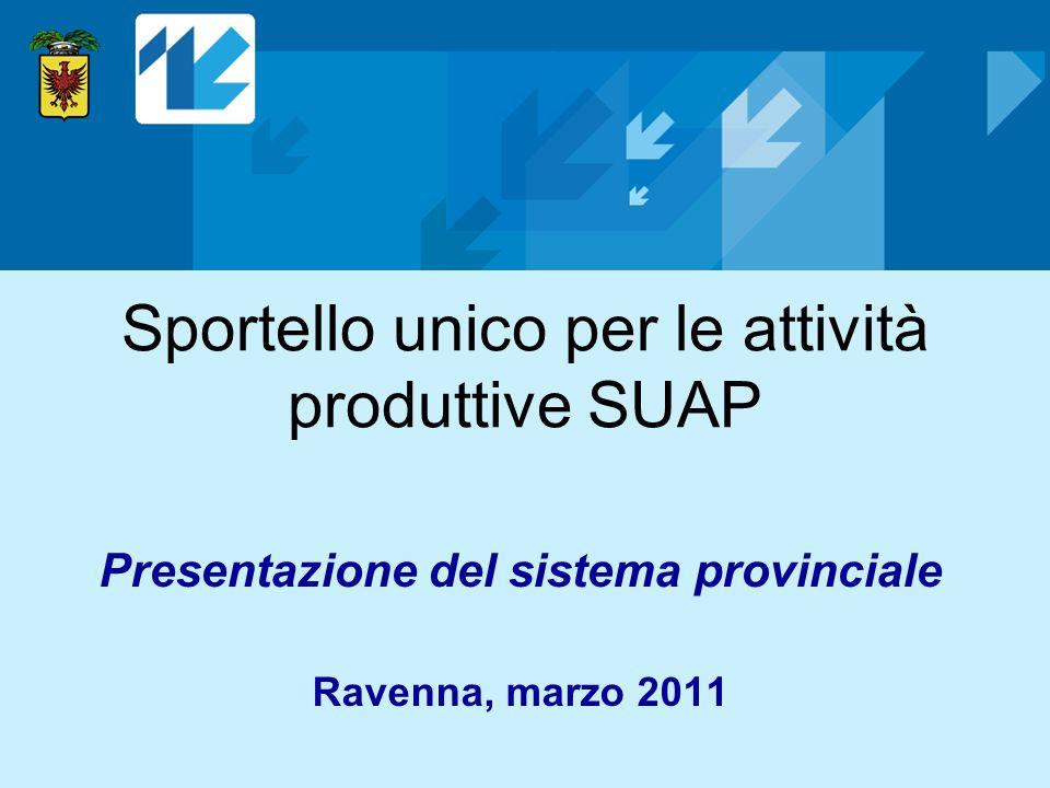Sportello unico per le attività produttive SUAP