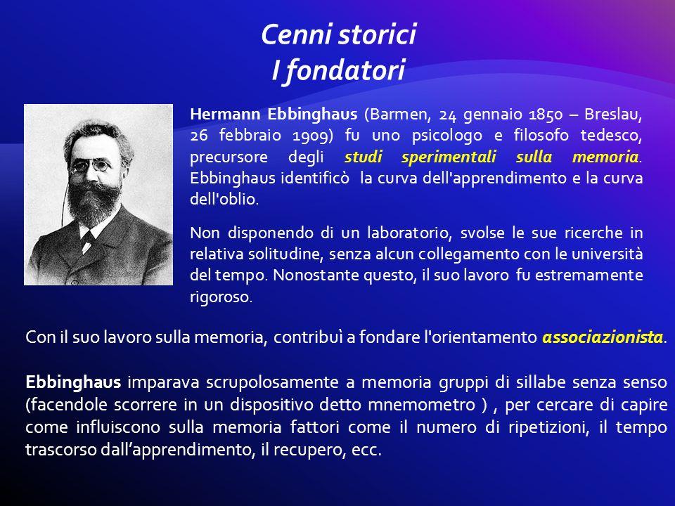 Cenni storici I fondatori