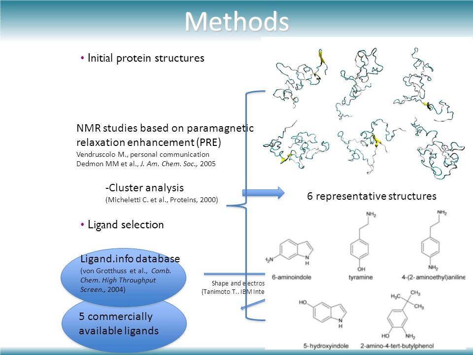 Methods Initial protein structures