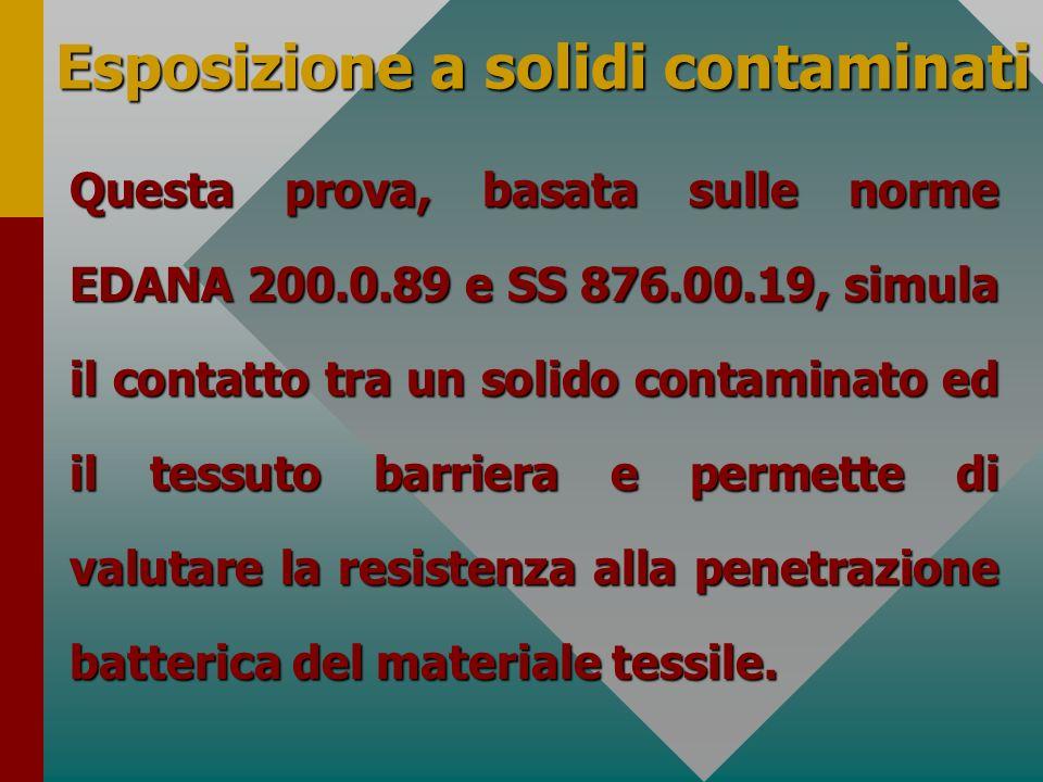 Esposizione a solidi contaminati