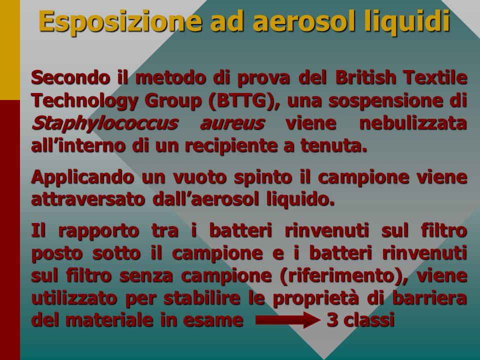 Esposizione ad aerosol liquidi