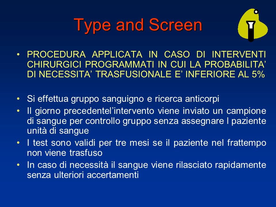 Type and Screen