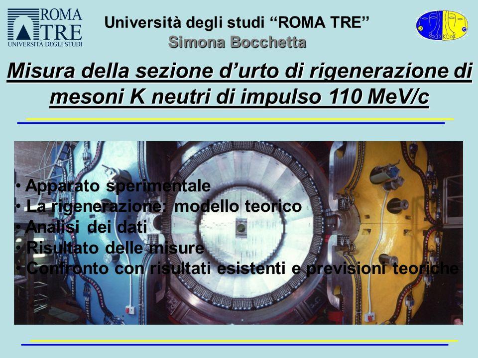 Università degli studi ''ROMA TRE''