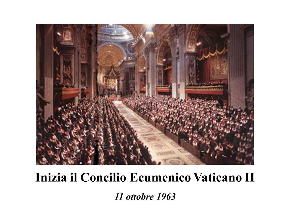 Inizia il Concilio Ecumenico Vaticano II