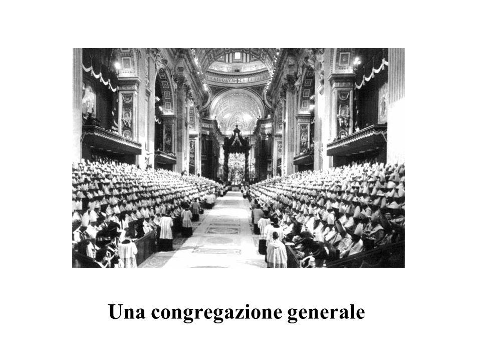 Una congregazione generale