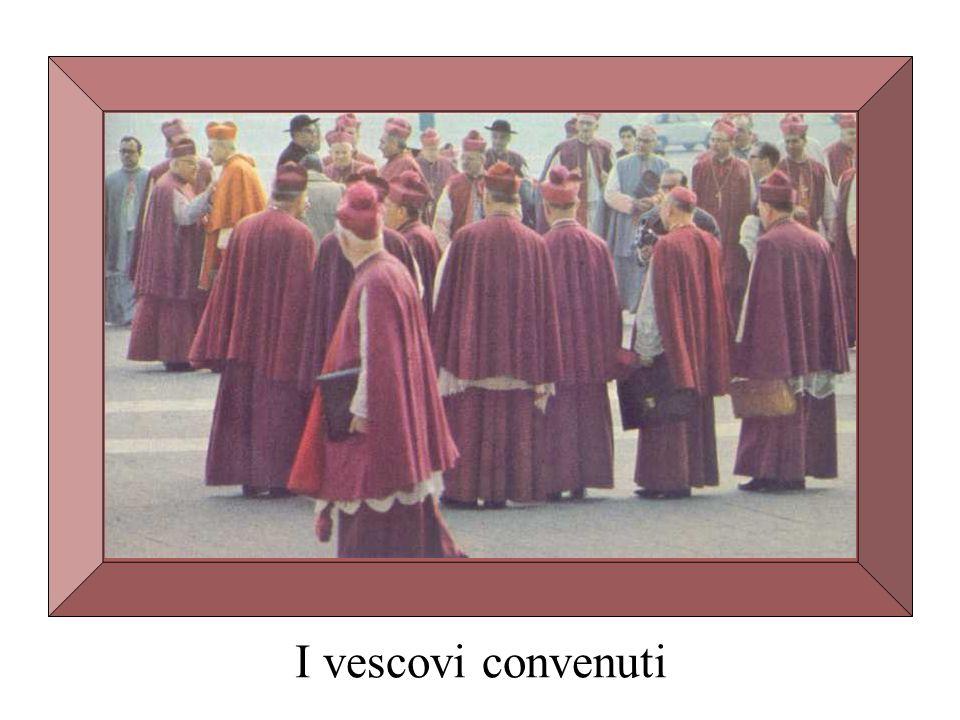 I vescovi convenuti