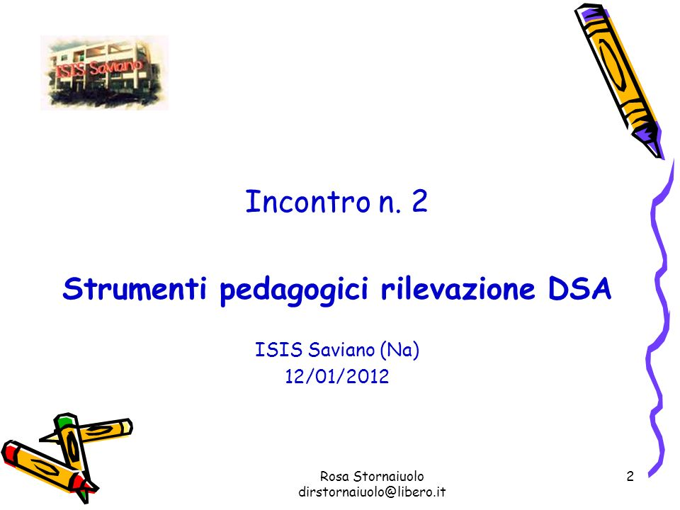 Strumenti pedagogici rilevazione DSA