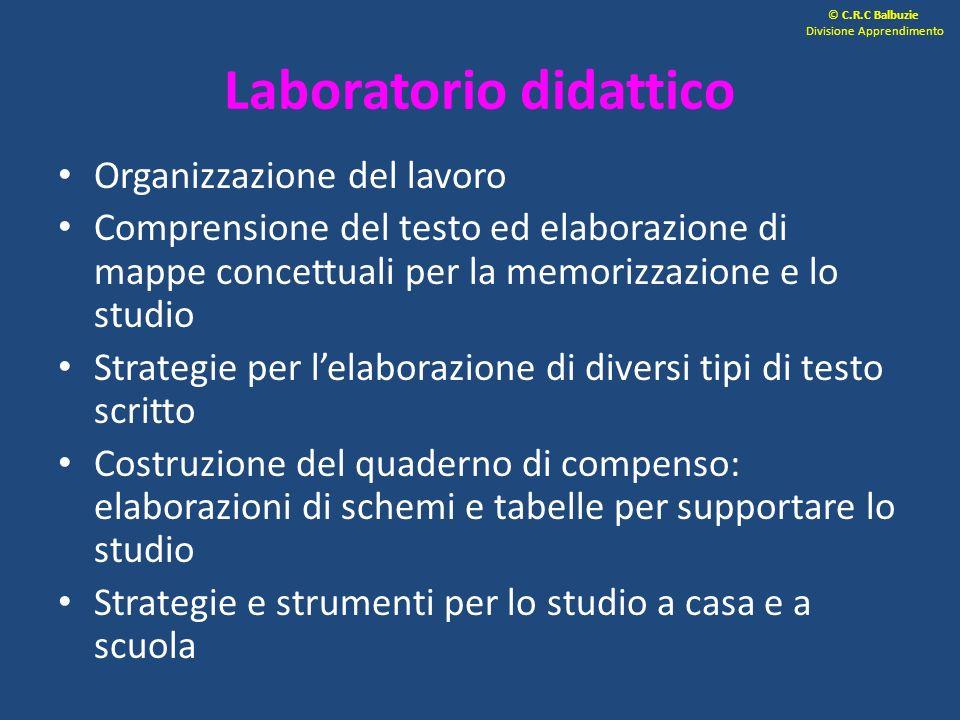 Laboratorio didattico