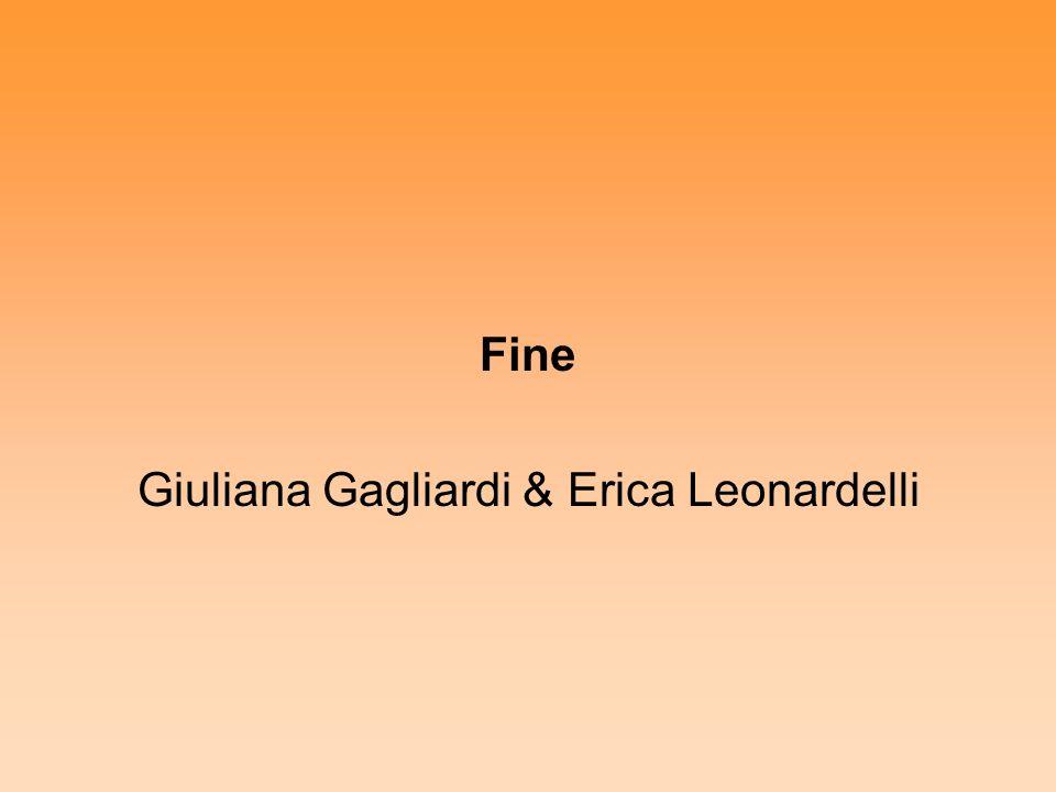 Giuliana Gagliardi & Erica Leonardelli