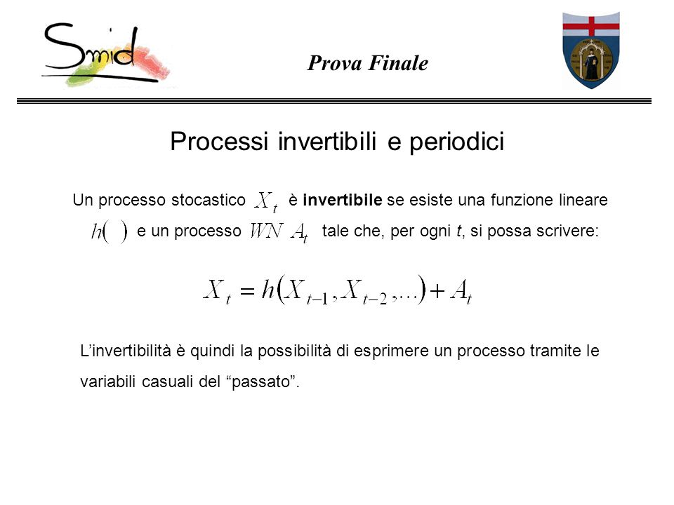 Processi invertibili e periodici