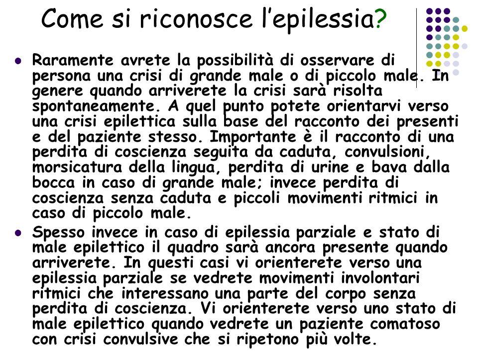 Come si riconosce l'epilessia