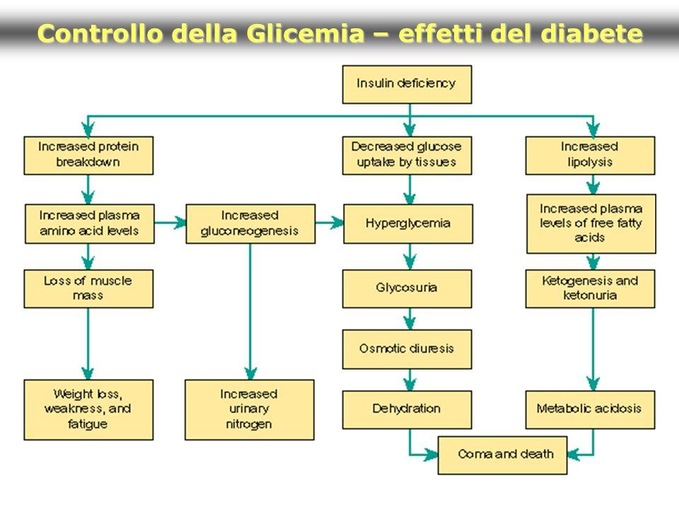 Controllo della Glicemia – effetti del diabete