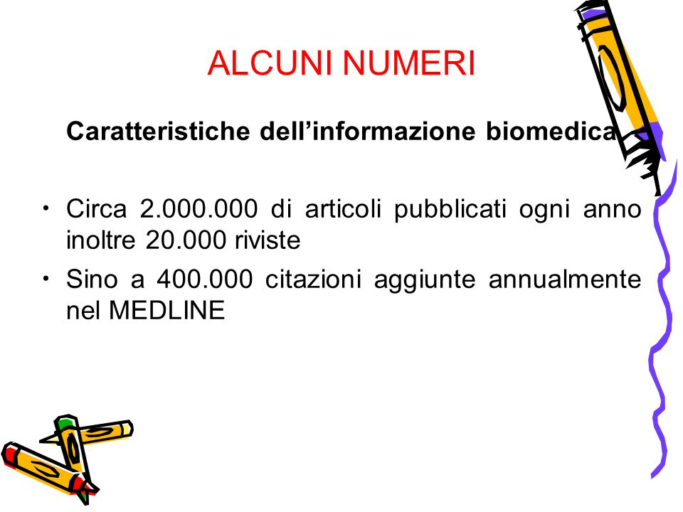 Caratteristiche dell'informazione biomedica