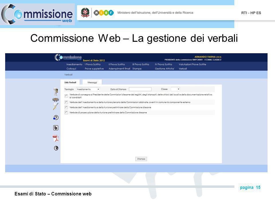 Commissione Web – La gestione dei verbali