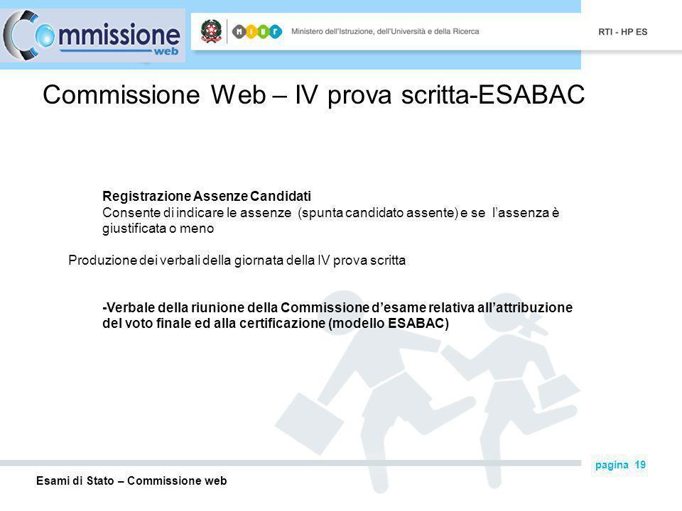 Commissione Web – IV prova scritta-ESABAC