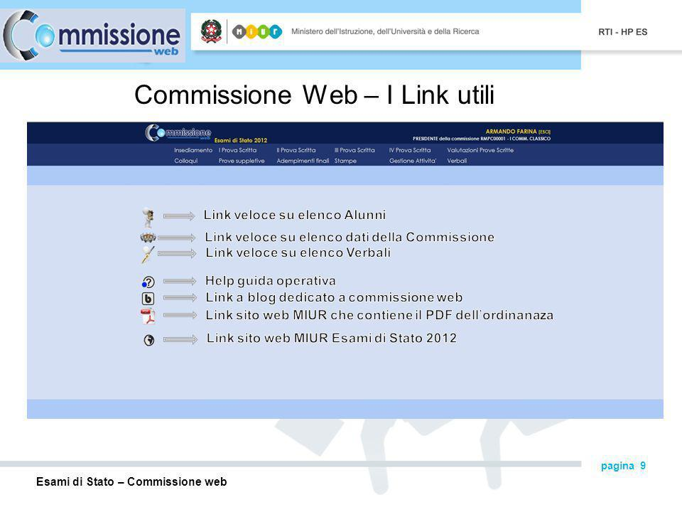 Commissione Web – I Link utili