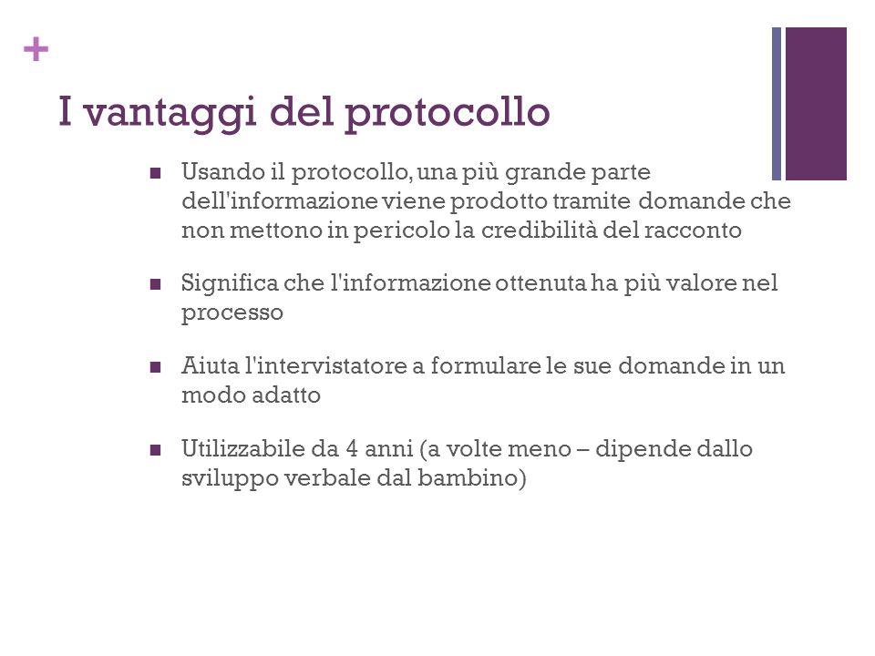 I vantaggi del protocollo