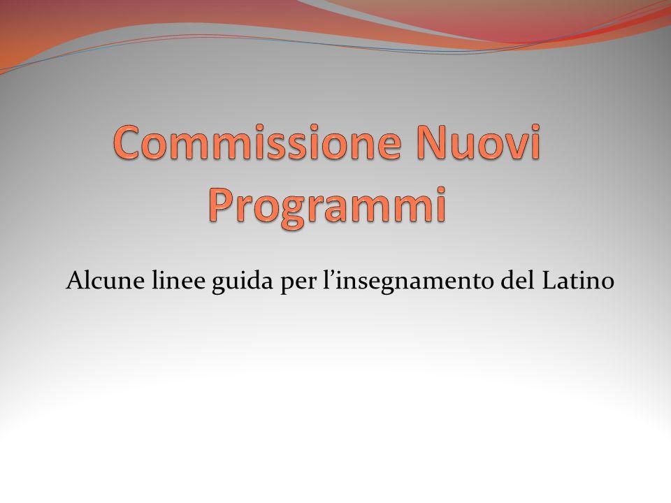 Commissione Nuovi Programmi