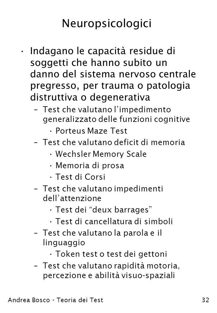 Neuropsicologici