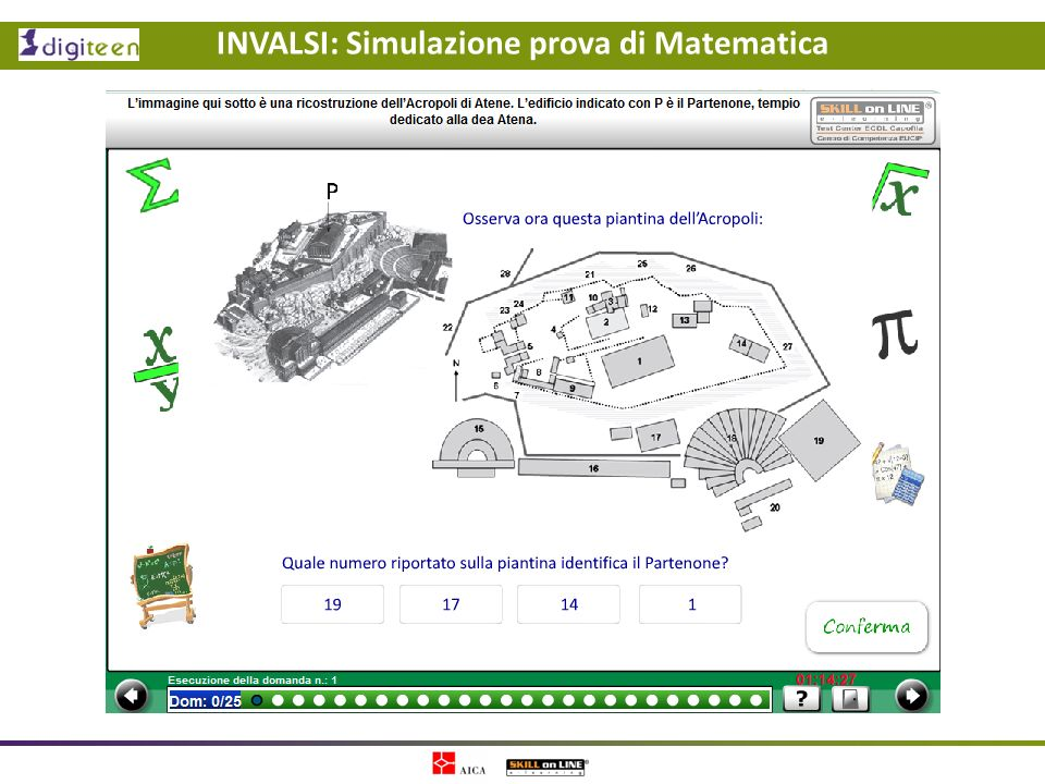 INVALSI: Simulazione prova di Matematica
