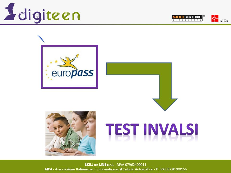 TEST INVALSI SKILL on LINE s.r.l. - P.IVA 07962400011