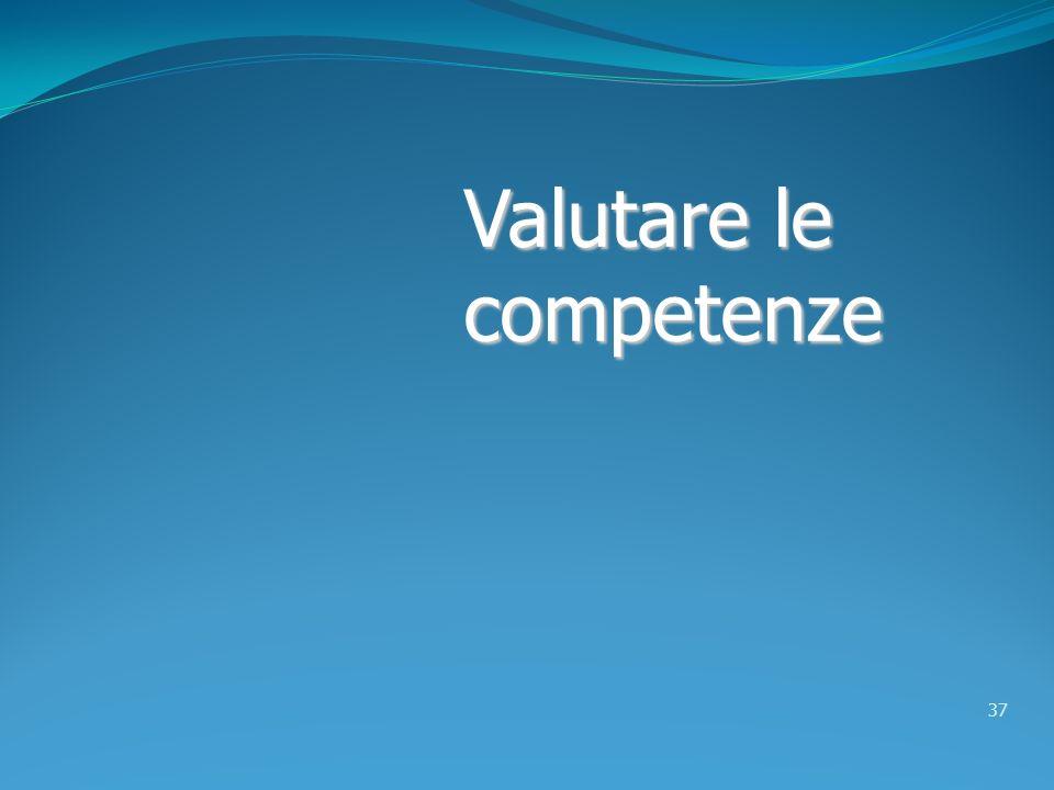 Valutare le competenze