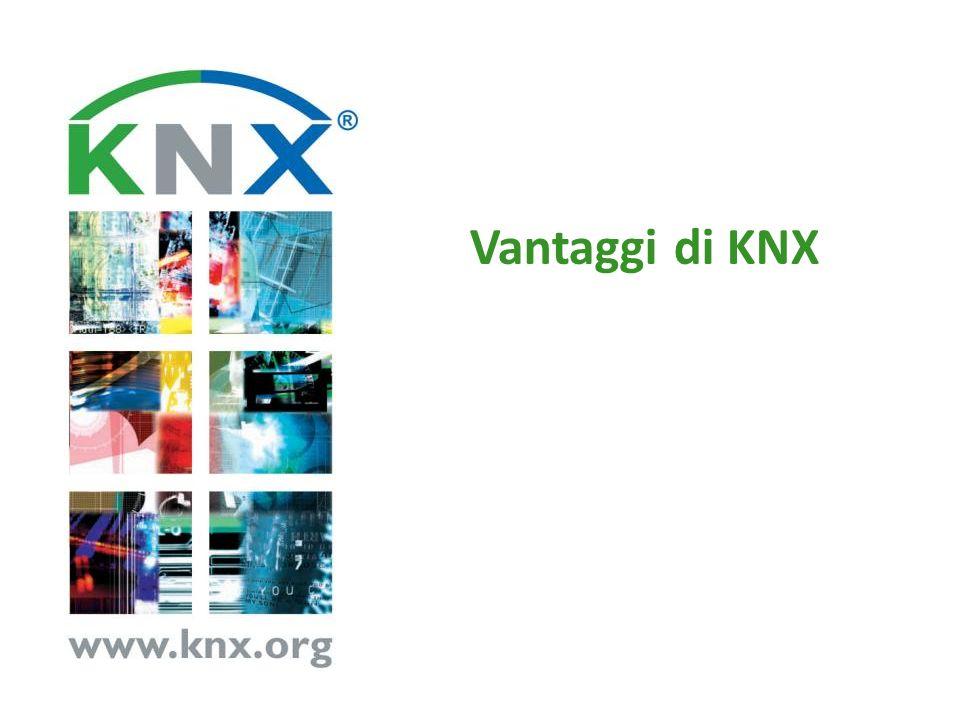 Vantaggi di KNX