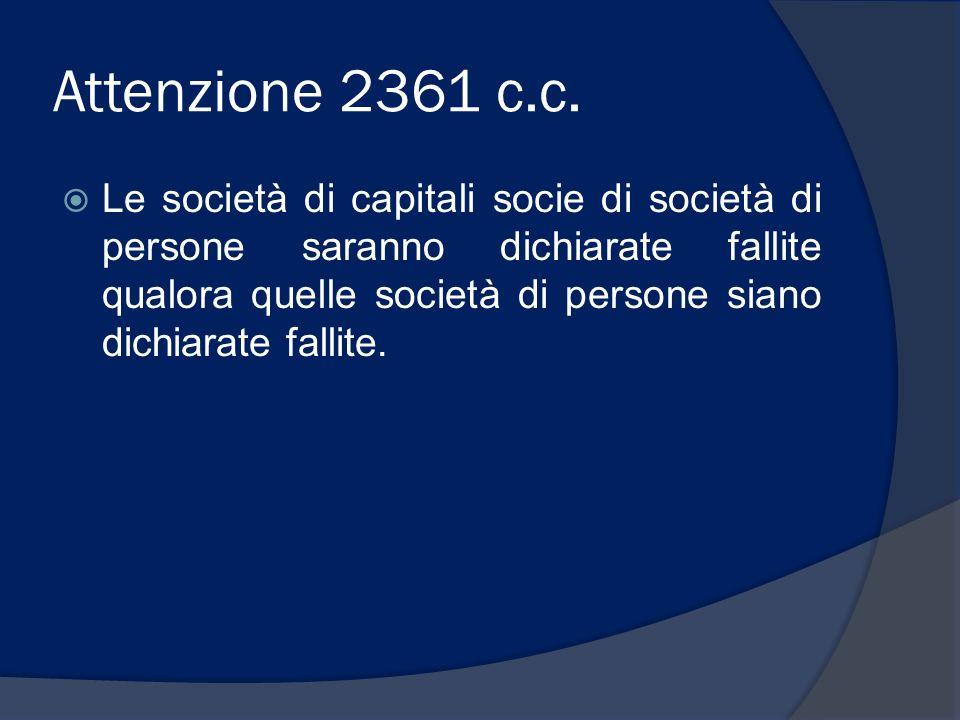 Attenzione 2361 c.c.
