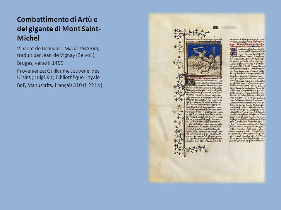 Combattimento di Artù e del gigante di Mont Saint-Michel