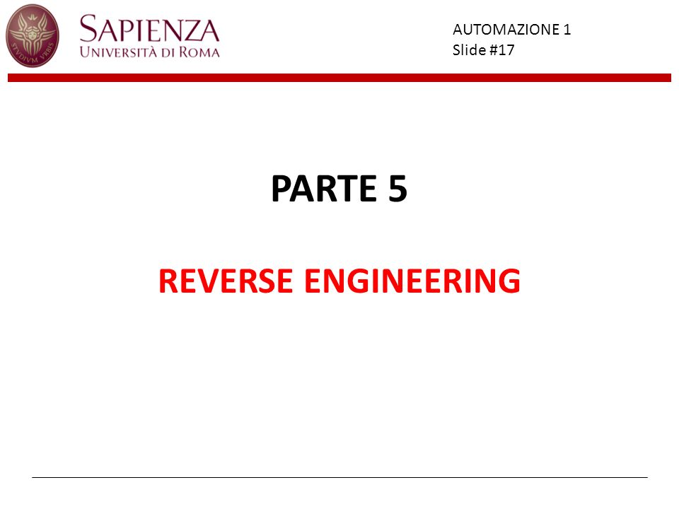 PARTE 5 REVERSE ENGINEERING