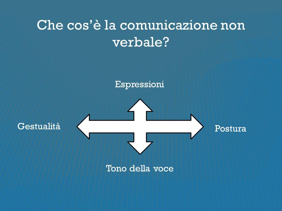 Che cos'è la comunicazione non verbale