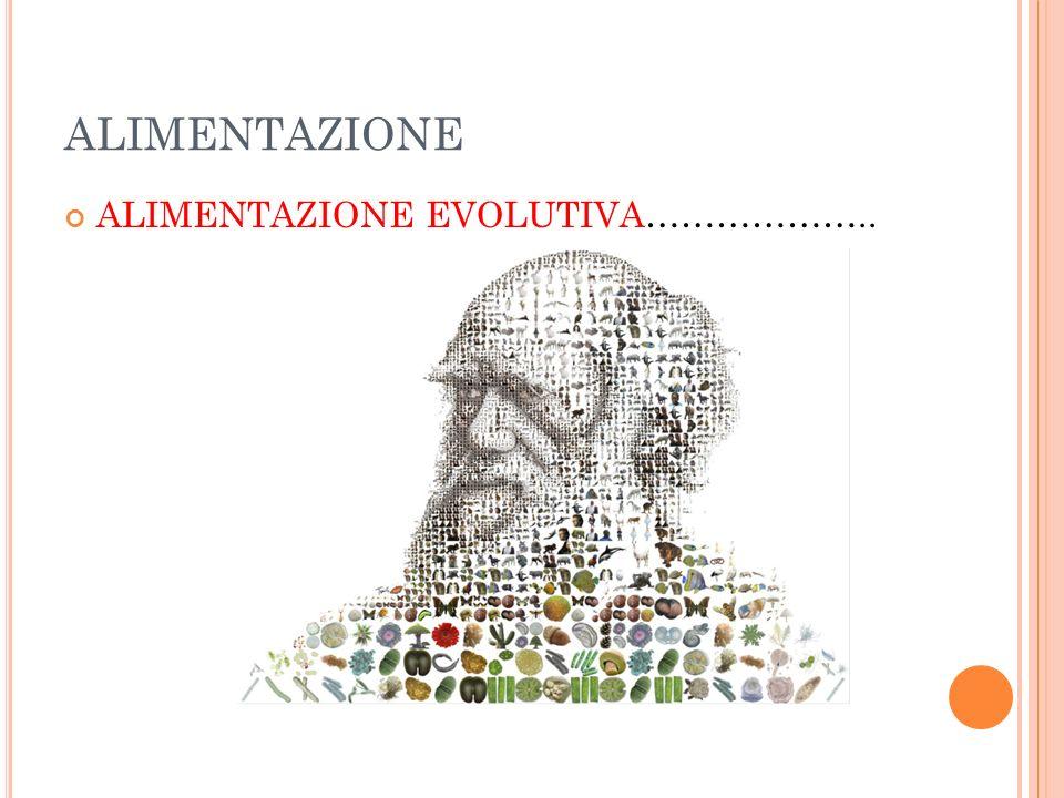 ALIMENTAZIONE ALIMENTAZIONE EVOLUTIVA………………..
