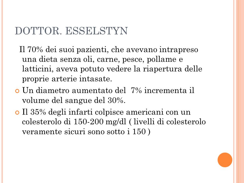DOTTOR. ESSELSTYN