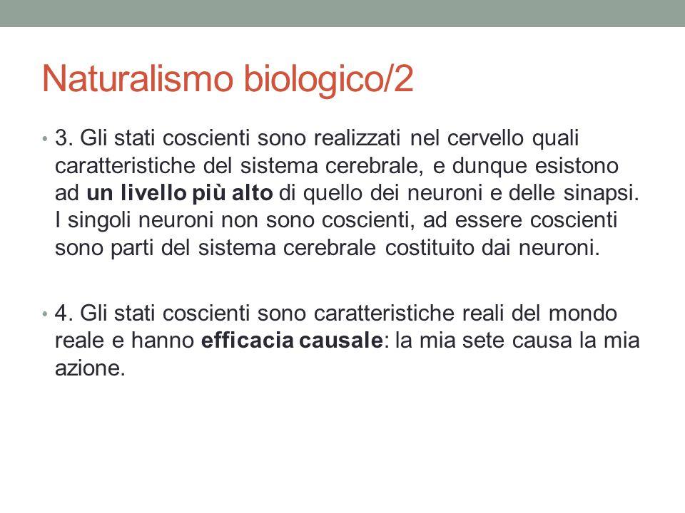 Naturalismo biologico/2