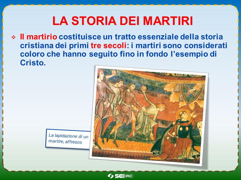 La storia dei martiri