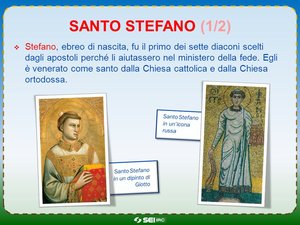 Santo Stefano (1/2)